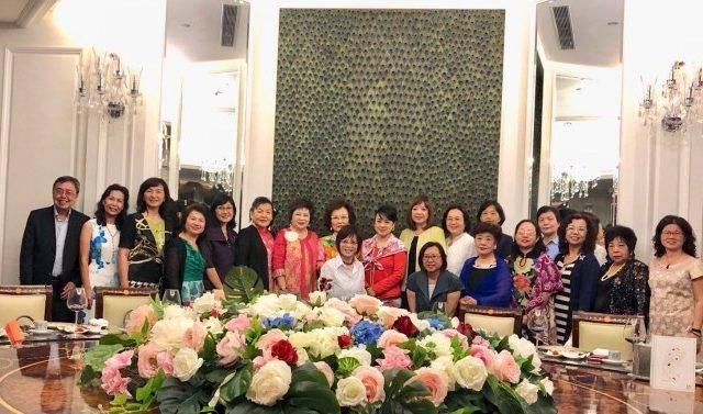 翁倩玉獲邀擔任世華婦女會榮譽顧問 攜手散發真善美
