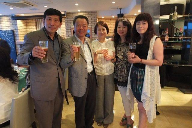 世華日本分會設宴歡送僑務組長榮退