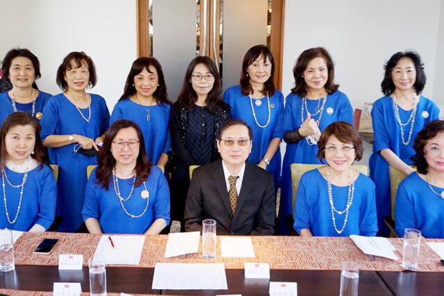 世華日本分會拜會僑務組 報告活動資訊探討僑務