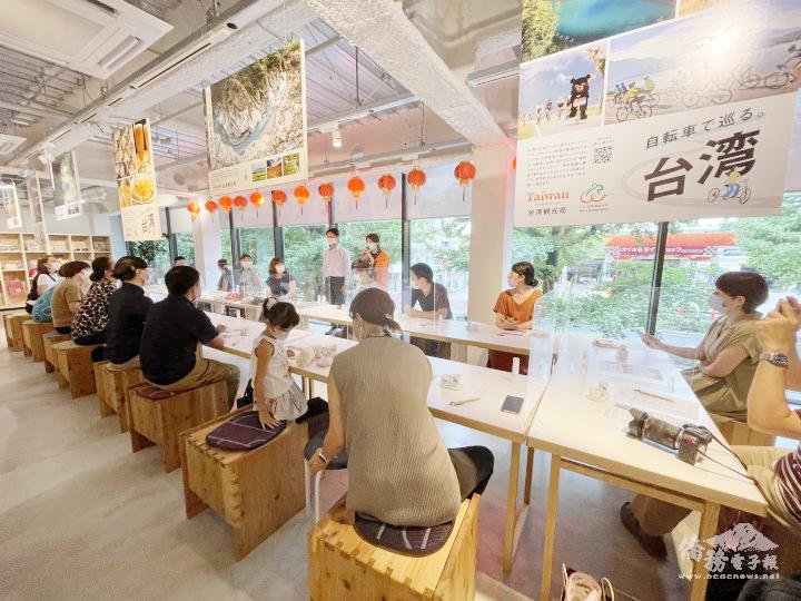 超高人氣的飲茶教室